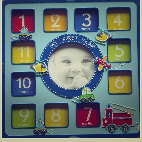 First Impressions Accessories Babys First Year Frame Boy Poshmark